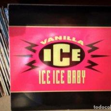 Discos de vinilo: VANILLA ICE - ICE ICE BABY. Lote 217871095