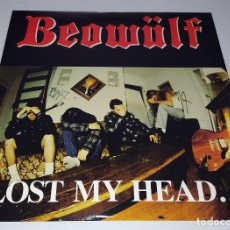 Discos de vinilo: LP BEOWULF - LOST MY HEAD...BUT I´M BACK ONTHE RIGHT TRACK. Lote 217875170