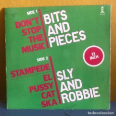 Discos de vinilo: BITS & PIECES SLY & ROBBIE DON'T STOP THE MUSIC STAMPEDE EL PUSSYCAT SKA. Lote 217881062
