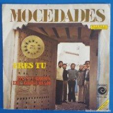 Discos de vinilo: SINGLE / MOCEDADES - ERES TU, NOVOLA NOX-188, 1973 (EUROVISION 73). Lote 217881127