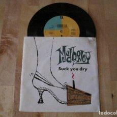 Discos de vinilo: SINGLE MUDHONEY SUCK YOU DRY/DECEPTION PASS REPRISE EUROPE. Lote 217884655