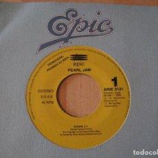 Discos de vinilo: SINGLE PEARL JAM OCEANS EPIC 3131 SPAIN PROMO. Lote 217886372
