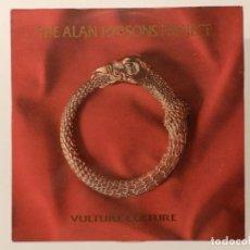 Discos de vinil: VINILO LP. THE ALAN PARSONS PROJECT - VULTURE CULTURE. 33 RPM.. Lote 217892168