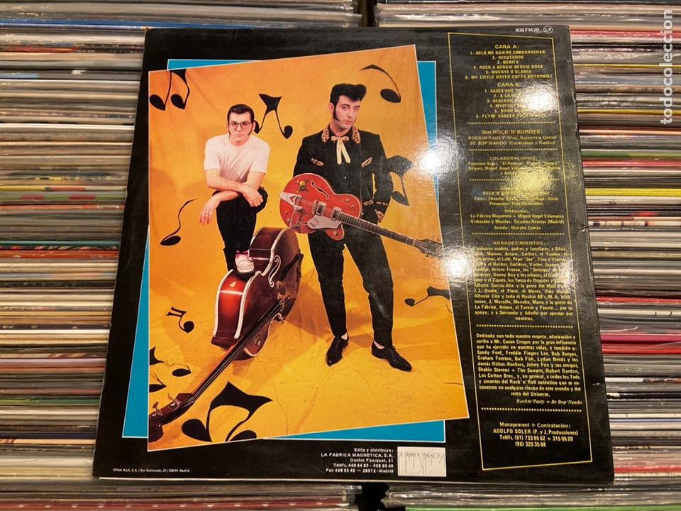 Discos de vinilo: Portada carpeta del lp de Rock 'n' bordes muerte o gloria Solo la portada! NO incluye el disco! - Foto 3 - 217893023