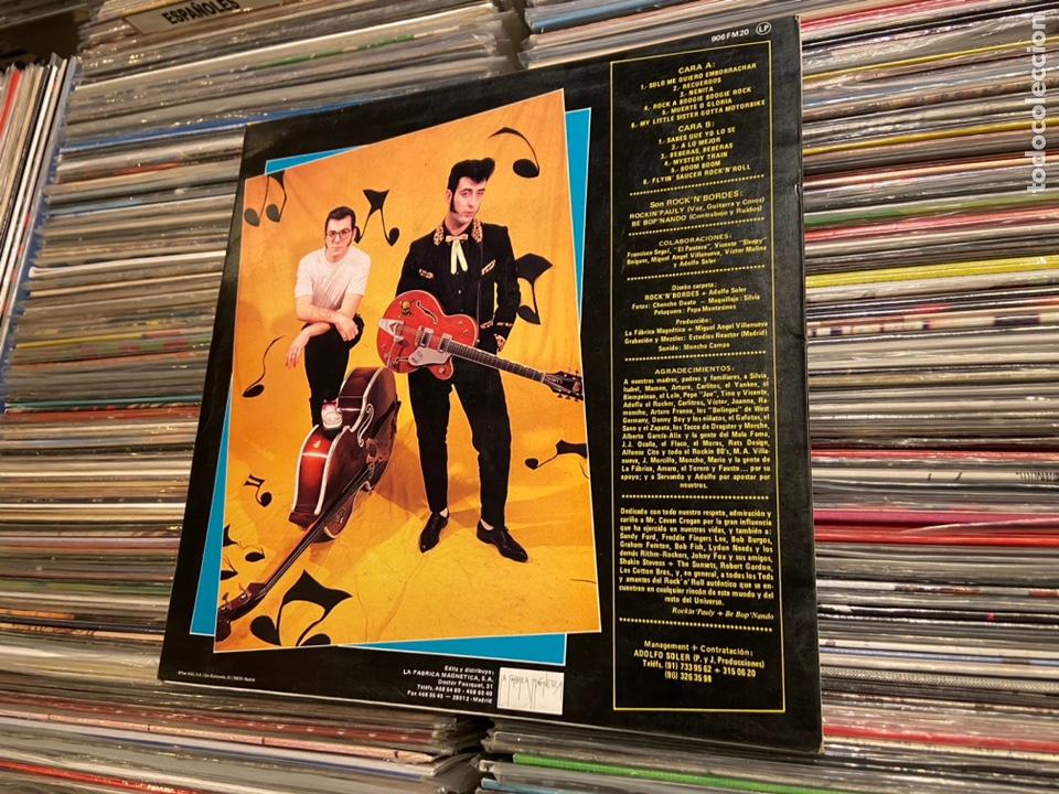 Discos de vinilo: Portada carpeta del lp de Rock 'n' bordes muerte o gloria Solo la portada! NO incluye el disco! - Foto 4 - 217893023