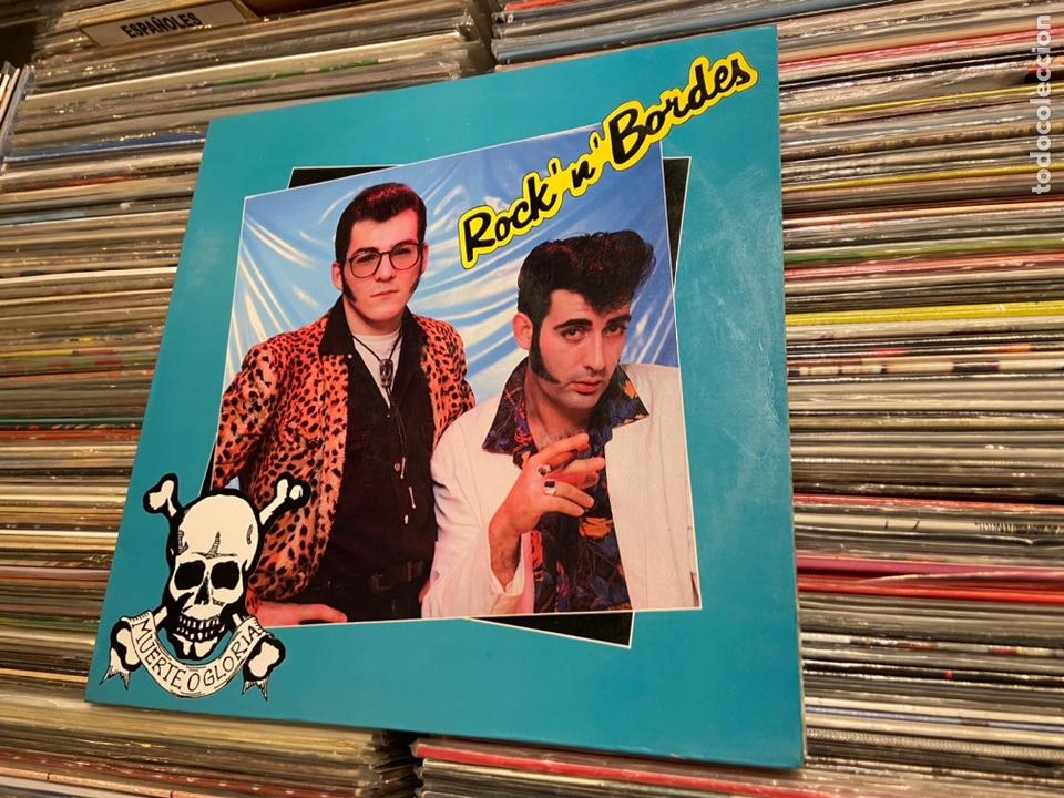 Discos de vinilo: Portada carpeta del lp de Rock 'n' bordes muerte o gloria Solo la portada! NO incluye el disco! - Foto 5 - 217893023