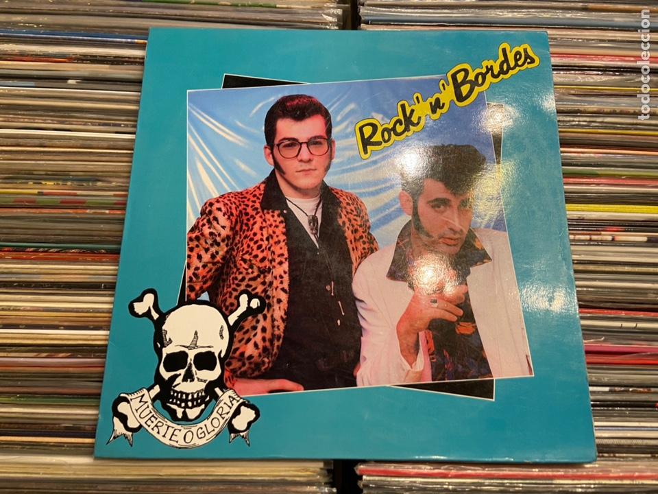 PORTADA CARPETA DEL LP DE ROCK 'N' BORDES MUERTE O GLORIA SOLO LA PORTADA! NO INCLUYE EL DISCO! (Música - Discos - LP Vinilo - Grupos Españoles de los 90 a la actualidad)