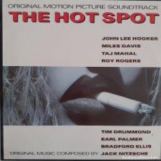 Discos de vinilo: THE HOT SPOT. JACK NITZCHE. JOHN LEE HOOKER, MILES DAVIS, TAJ MAHAL, ETC. Lote 217895763