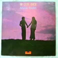 Discos de vinilo: AUGUSTO ALGUERO , MI GRAN AMOR , DISCO VINILO LP, POLYDOR, 1971. Lote 217895787