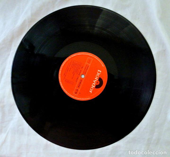 Discos de vinilo: AUGUSTO ALGUERO , MI GRAN AMOR , DISCO VINILO LP, POLYDOR, 1971 - Foto 4 - 217895787