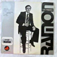 Discos de vinilo: RAMON VERITATS DEFINITIVES SOBRE LA PROBLEMATICA DE L'HOME DEL CARRER ARA I ACI, EM, 1978, VINILO LP. Lote 217896530