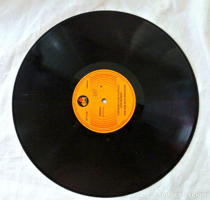 Discos de vinilo: RAMON LHUMOR CLARO I CATALA DEN RAMON, EM, 1979 , DISCO VINILO LP - Foto 3 - 217897948