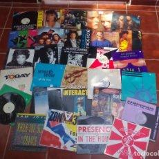 Discos de vinilo: LOTE DE 29 MAXI SINGLES, MUSICA DISCO, TECHNO ETC, VER FOTOS Y DESCRICIÓN. Lote 217899390