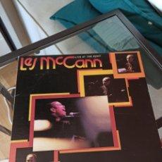 Discos de vinilo: LES MCCANN - CHANGE, CHANGE, CHANGE (LIVE AT THE ROXY) (IMPULSE! - AS-9333, US, 1977). Lote 217899668