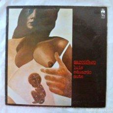 Discos de vinilo: LUIS EDUARDO AUTE, SARCÓFAGO ( CANCIONES DE MUERTE), ARIOLA , 1977, DISCO VINILO LP. Lote 217900517