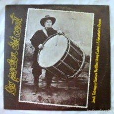 Disques de vinyle: LO PODER DEL CANT VOL. 1,JORDI FABREGAS XAVIER BATLLES, JOSEP CABRE, DISCO VINILO LP, ARIOLA, 1980. Lote 217901960