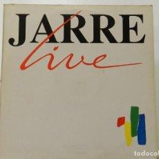 Disques de vinyle: VINILO LP. JEAN MICHEL JARRE - JARRE LIVE. 33 RPM.. Lote 217905081