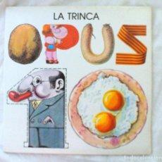 Discos de vinilo: LA TRINCA - OPUS 10, DISCO VINILO LP, EDIGSA , 1976. Lote 217908303