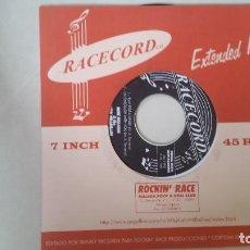 Discos de vinilo: MIKE HILLMAN & THE LATIN HILLBILLIES. EP 4 TEMAS.. Lote 217912682