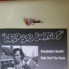 Discos de vinilo: WILD BOB BURGOS PRESENTA A SUS AMIGOS....MEGATONES. 4 TEMAS. TEDDY BOY. Lote 217913135