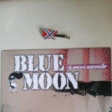 Disques de vinyle: BLUE MOON. A VECES NECESITO , EP 4 TEMAS. ROCKABILLY. 2010. Lote 217914783