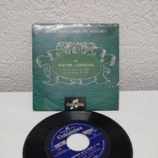 Discos de vinilo: DEUX FANTASIED DE MOZART. COLUMBIA. Lote 217915035