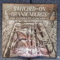 Discos de vinilo: WENDY CARLOS - SWITCHED - ON BRANDENBURGS. THE COMPLETE CONCERTOS. AÑO 1.980. EDITADO POR CBS.. Lote 217927223