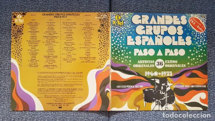 Discos de vinilo: Grandes Grupos españoles - Paso a paso (36 artistas originales) 1.960-1.977. editado por K-Tel - Foto 2 - 217927773