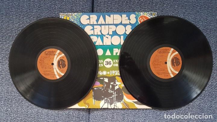 Discos de vinilo: Grandes Grupos españoles - Paso a paso (36 artistas originales) 1.960-1.977. editado por K-Tel - Foto 4 - 217927773