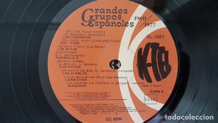 Discos de vinilo: Grandes Grupos españoles - Paso a paso (36 artistas originales) 1.960-1.977. editado por K-Tel - Foto 5 - 217927773