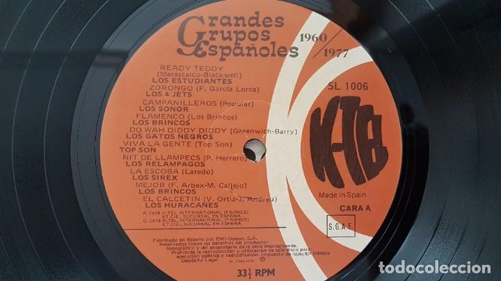Discos de vinilo: Grandes Grupos españoles - Paso a paso (36 artistas originales) 1.960-1.977. editado por K-Tel - Foto 7 - 217927773