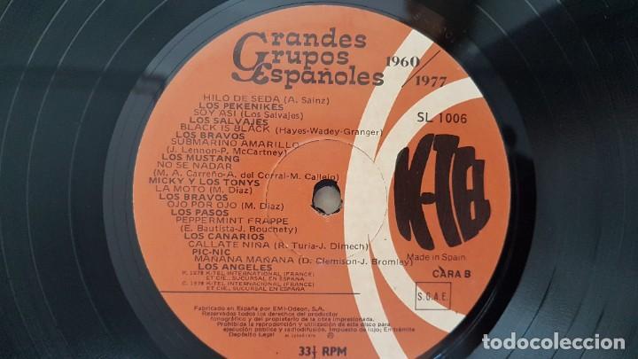 Discos de vinilo: Grandes Grupos españoles - Paso a paso (36 artistas originales) 1.960-1.977. editado por K-Tel - Foto 8 - 217927773