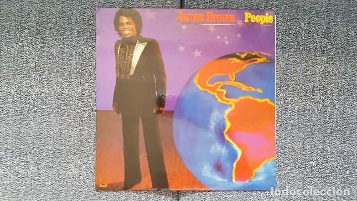 JAMES BROWN - PEOPLE. EDITADO POR POLYDOR. AÑO 1.980 (Música - Discos - LP Vinilo - Funk, Soul y Black Music)