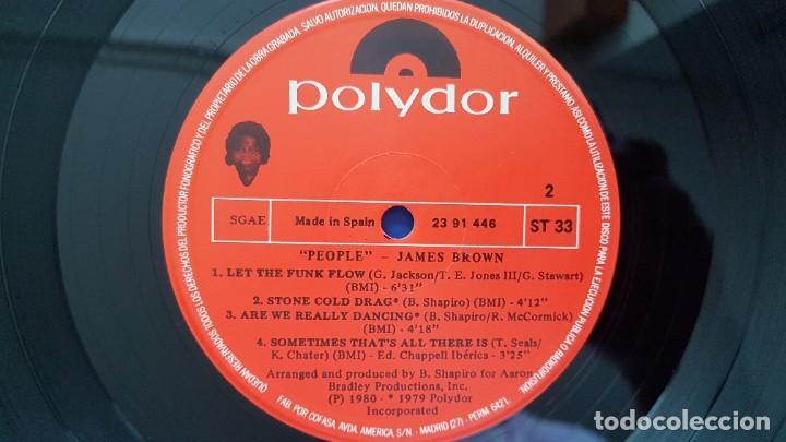 Discos de vinilo: James Brown - People. editado por Polydor. año 1.980 - Foto 5 - 217928118