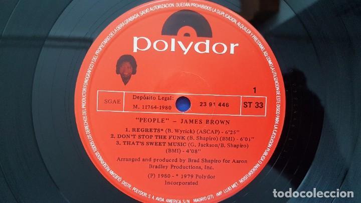 Discos de vinilo: James Brown - People. editado por Polydor. año 1.980 - Foto 6 - 217928118