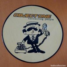 Discos de vinilo: OBJETONE CONNECTING PEOPLE. DISCO LP UFO WAVES. RUTA DEL BACALAO. SIN PROBAR. 80-90S. Lote 217935505