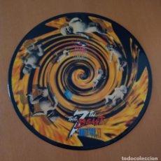 Discos de vinilo: METRO 7 TH THE BEAST PINK RECORDS DISCO LP. RUTA DEL BACALAO. SIN PROBAR. 80-90S. Lote 217935763