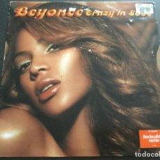 Discos de vinilo: BEYONCÉ - CRAZY IN LOVE. Lote 217936507
