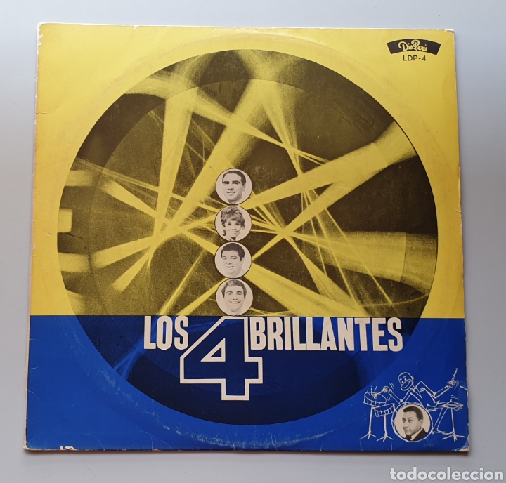 LP LOS 4 BRILLANTES - SHAKER LATINO (PERÚ - DISPERU - 1965) TOP SHAKER BEAT URUGUAY SAICOS LABEL (Música - Discos - LP Vinilo - Grupos y Solistas de latinoamérica)