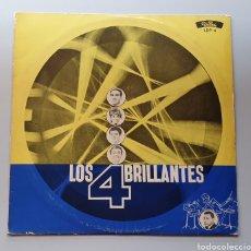 Discos de vinilo: LP LOS 4 BRILLANTES - SHAKER LATINO (PERÚ - DISPERU - 1965) TOP SHAKER BEAT URUGUAY SAICOS LABEL. Lote 217936761