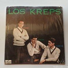 Discos de vinilo: LP LOS KREPS - SAME (PERÚ - SONORADIO - 1965) RARE ROCK/TWIST PERUANO. Lote 217937775