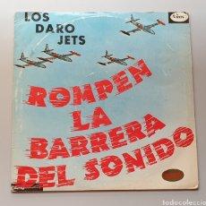 Discos de vinilo: LP LOS DARO JETS - ROMPEN LA BARRERA DEL SONIDO (COLOMBIA - DARO - 1964) ULTRA RARE LP R&R TWIST. Lote 217938620