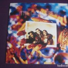 Discos de vinilo: THE CASH CREW - BACK FOR MORE - SG SCREAM 1991 - HIP HOP 90'S - DISCO - EDICION INGLESA SIN USO. Lote 217939806
