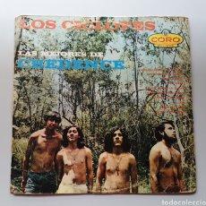 Discos de vinilo: LP LOS CICLOPES - LAS MEJORES DE CREDENCE (MÉXICO - CORO - 1968) ULTRA RARE 70S MEXICO PSYCH ROCK!!. Lote 217939876