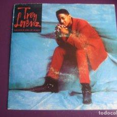 Discos de vinilo: TREY LORENZ - PHOTOGRAPH OF MARY - SG EPIC PROMO 1992 - ELECTRONIA DISCO HOUSE 90'S HIP HOP GARAGE. Lote 217942623