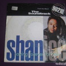 Discos de vinilo: SHANICE ?– SAVING FOREVER FOR YOU - SG GIANT 1992 - BSO CINE - HIP HOP - DISCO 90'S. Lote 217943332