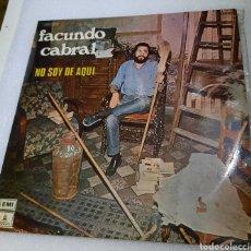 Discos de vinilo: FACUNDO CABRAL - NO SOY DE AQUÍ. Lote 217943688