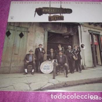 PRESERVATION HALL JAZZ BAND NEW ORLEANS 1976 LP (Música - Discos - LP Vinilo - Pop - Rock - New Wave Extranjero de los 80)