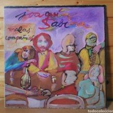 Discos de vinil: LP ALBUM , JOAQUIN SABINA , MALAS COMPAÑIAS. Lote 217952930