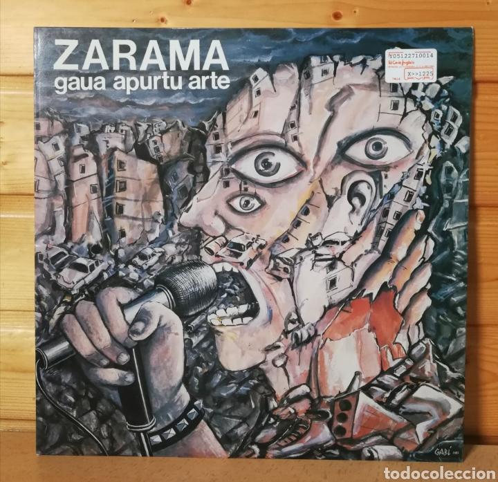 LP ALBUM , ZARAMA , GAUA APURTU ARTE , ORIGINAL 1985 (Música - Discos - LP Vinilo - Grupos Españoles de los 70 y 80)